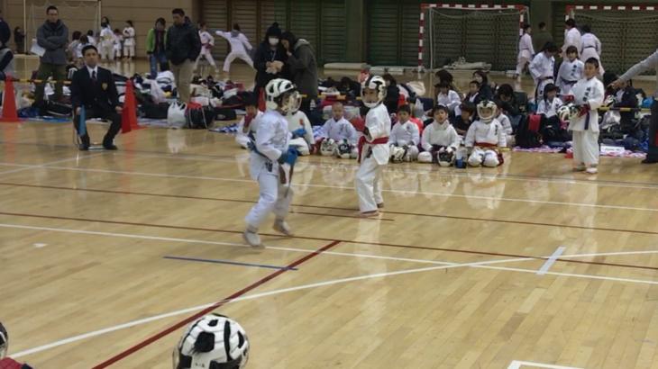 第8回 東京法政ライオンズ杯 ジュニア空手道大会に参加